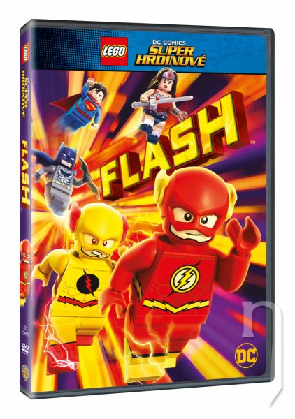 DVD Film - Lego DC Super hrdinové: Flash