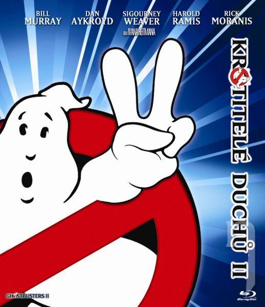BLU-RAY Film - Krotitelé duchů II - Mastered In 4K - Edice k 30. výročí!