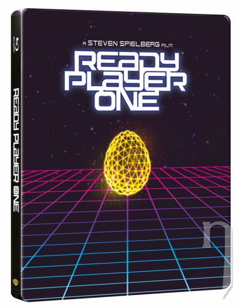 BLU-RAY Film -  Ready Player One: Hra sa začína (3D+2D) - Steelbook