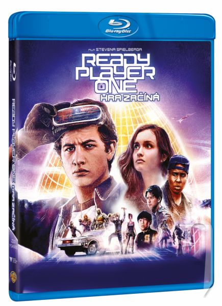 BLU-RAY Film -  Ready Player One: Hra sa začína