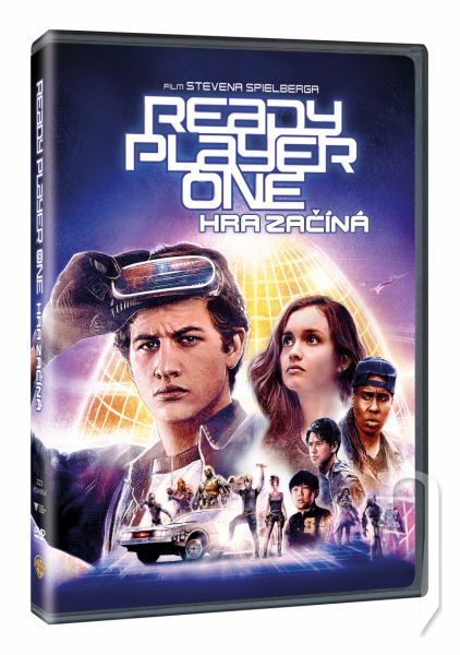 DVD Film -  Ready Player One: Hra sa začína