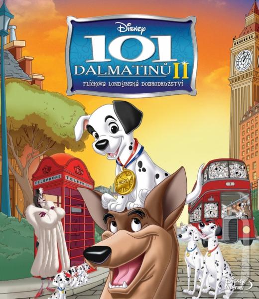 BLU-RAY Film - 101 Dalmatinů II: Flíčkova londýnská dobrodružství