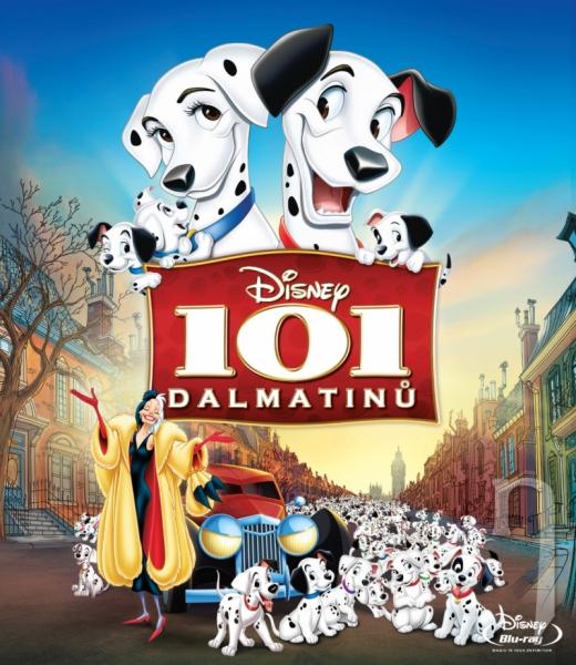 BLU-RAY Film - 101 dalmatinů