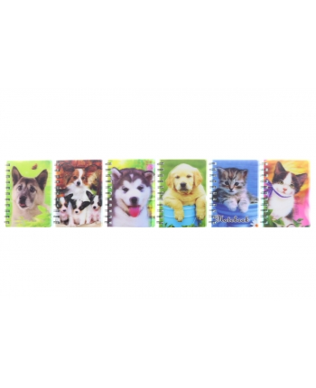 Zápisník A6 psi a mačky