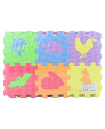 Penové puzzle 36 dielov - zvieratká