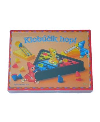 Hra Klobúčik hop