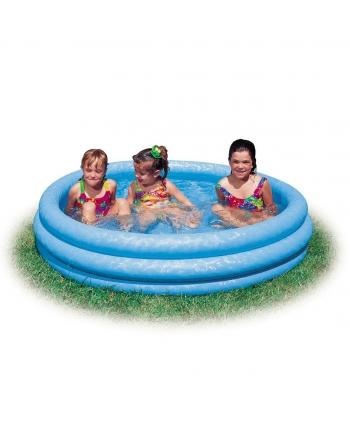 Bazén nafukovací modrý 147x33cm