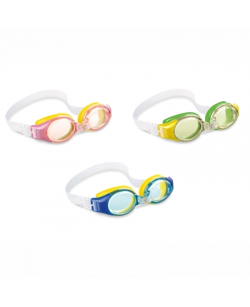 Okuliare plavecké detské 3-8 rokov