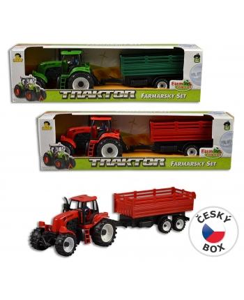 Traktor s prívesom 44cm