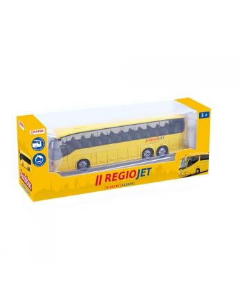 Autobus RegioJet kov/plast 18,5cm