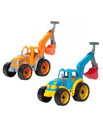 Traktor s bágrom 25cm