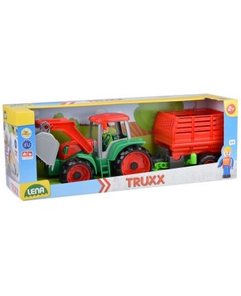 Truxx traktor s prívesom na seno