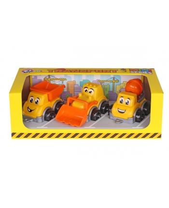 Transport mini stavbári 3ks