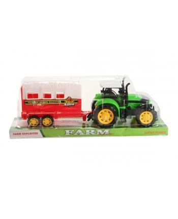 Traktor s prívesom pre kone 32cm