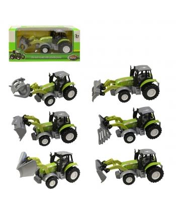 Traktor kovový na spätný chod 14cm
