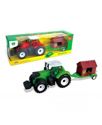 Traktor s prívesom na zotrvčník 35cm