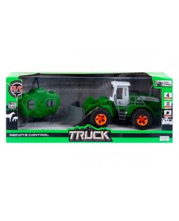 Traktor s radlicou R/C 35x12cm