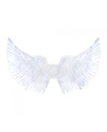 Krídla anjelské biele trblietavé