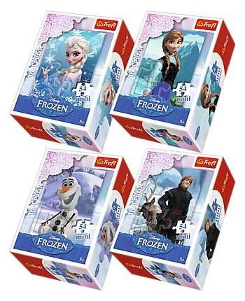 Puzzle 54 mini Frozen