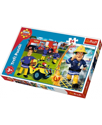 Puzzle 24 Maxi Požiarnik Sam
