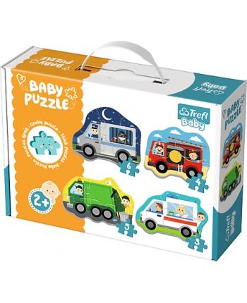 Puzzle Baby Classic Autá a práca