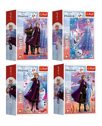 Puzzle 54 mini Frozen 2