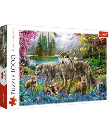 Puzzle 1000 Vlčia rodinka
