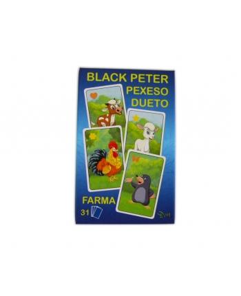 Karty Čierny Peter farma