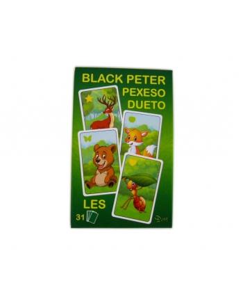 Karty Čierny Peter les
