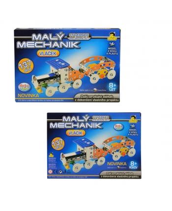 Malý mechanik - vláčik 137 dielov