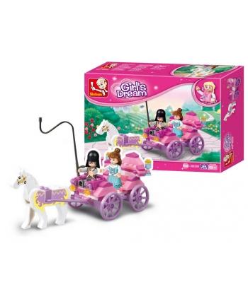 Stavebnica Princeznin kočiar 99ks
