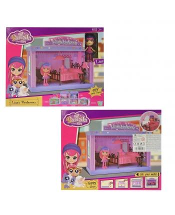 Spálňa pre bábiky s príslušenstvom