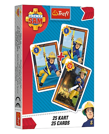 Karty Čierny Peter - Požiarnik Sam