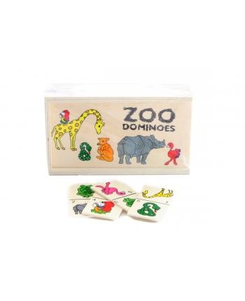 Drevené domino zoo 15,5cm