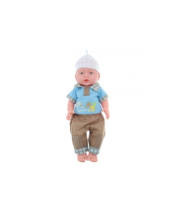Miminko chlapček v sáčku 40cm