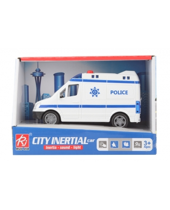 Auto policia na batérie 19cm