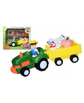 Farmár traktor s vlečkou na B/O
