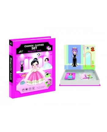 Knižka magnetické puzzle - princezné