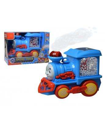 Dymiaca lokomotíva s guličkami