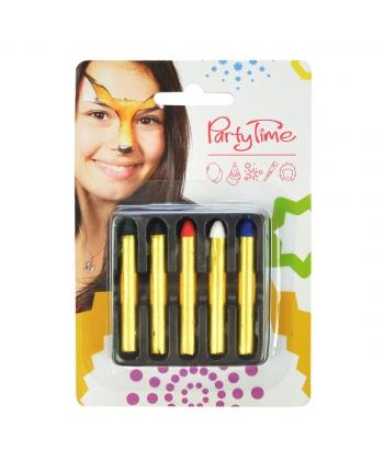 Tužky na tvár 5 ks