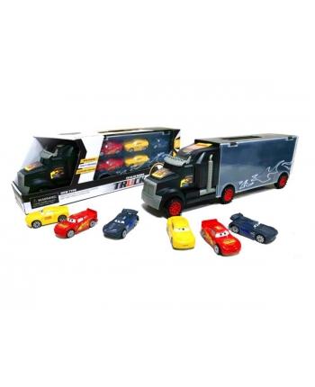Truck s autíčkami - 6ks, 38cm