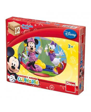 Drevené kocky - Mickye Mouse 12ks