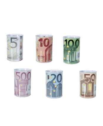 Pokladnička plechovka € 15x10cm