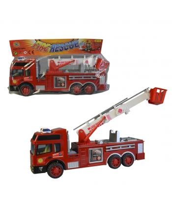 Auto hasičské na zotrvačník 30cm