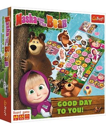 Hra Máša a Medveď