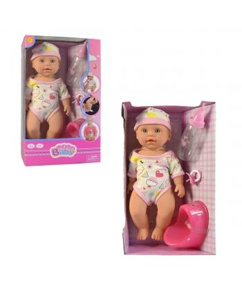 Cikajúca bábika s prísluš. 32cm