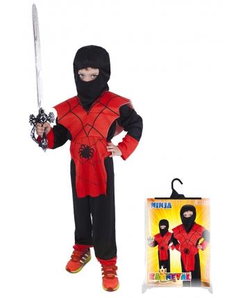 Karnevalový kostým Ninja pavúk veľ.M