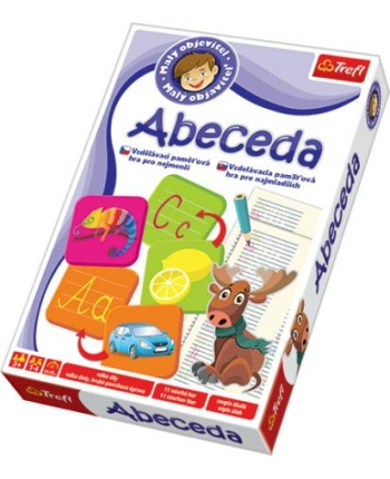 Hra malý objavitel abeceda
