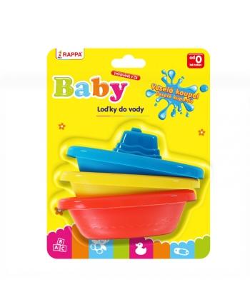 Loď Baby do vody 3ks na karte