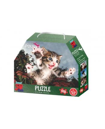 3D Puzzle Mačičky 3ks v balení
